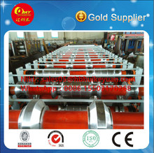 high efficiency double steel panel foming rolling forming machinery