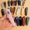Wholesale Natural tiger eyes stone rose quartz smoking pipes healing crystal
