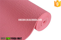 High quality non slip eco material 8mm thick pvc yoga mats for yoga