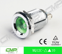 diameter 12mm small waterproof led indicator light
