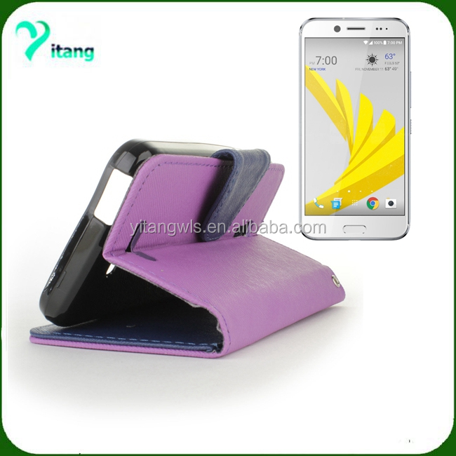 for HTC Bolt/10 evo defender leather flip stand cover cheaper wholesale leather case and cover