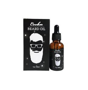 Sample free hair and beard grooming growth oil for men beard and facial hair care