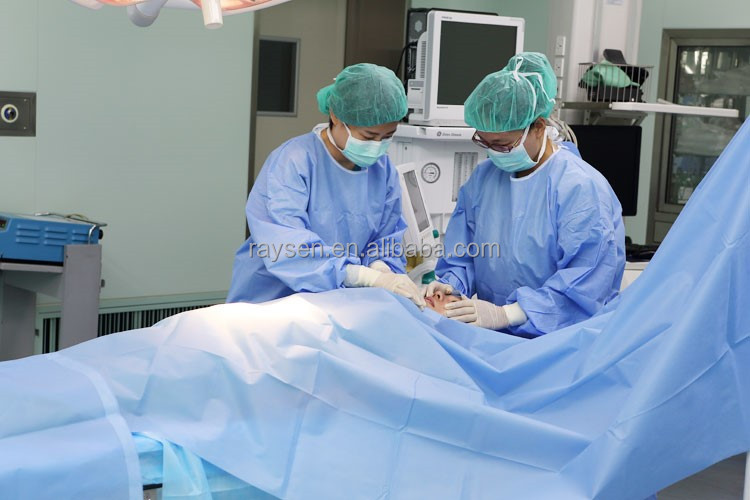 Free sample ! Sterile Surgical Gown, Medical Supplies With CE & ISO13485 Certificate