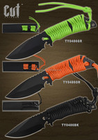 outdoor knife, survival knife, hunting knife, paracord