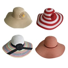 Wholesale paper straw sun hat