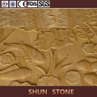 Beautiful Yellow Sandstone Carving