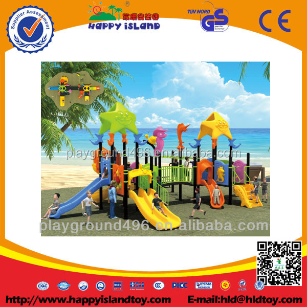 Plastic Slide big Playground Kids Outdoor Playground