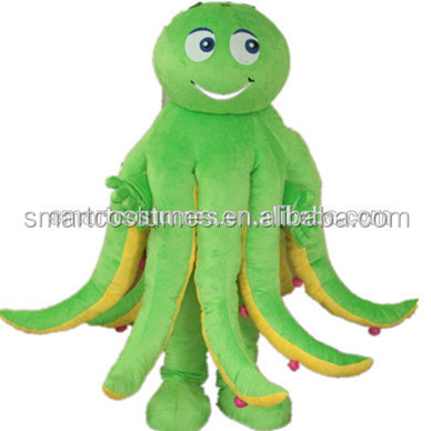 Top selling halloween sea world mascot easy wearing sea animal costumes for adults