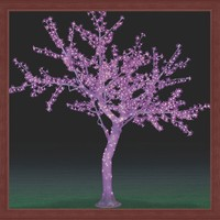 LED TREE simulation tree plant with LED light Cherry tree 1.5m new product landscape light