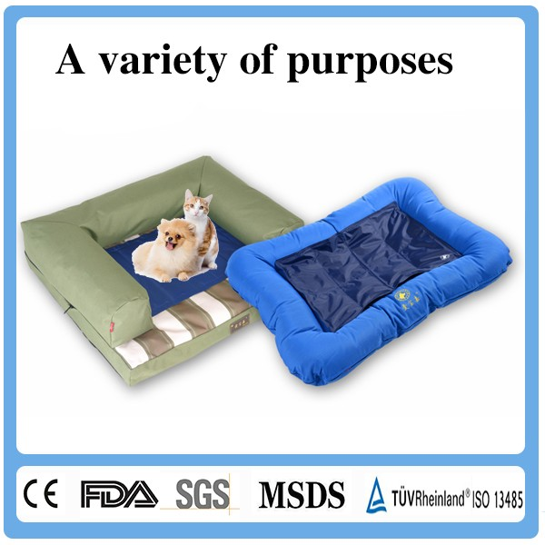 Fancy Cheap Gel Cold Pet Mat / Therapy Gel Cooling Pad For Pets