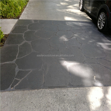 Irregular natural stone for paving