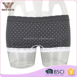 Hipster hip enhancer good quality dot paint seamless nylon panty