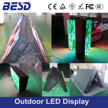 3G/4G/WIFI/USB led sign, P6 P8 P10 double sides outdoor front open led sign