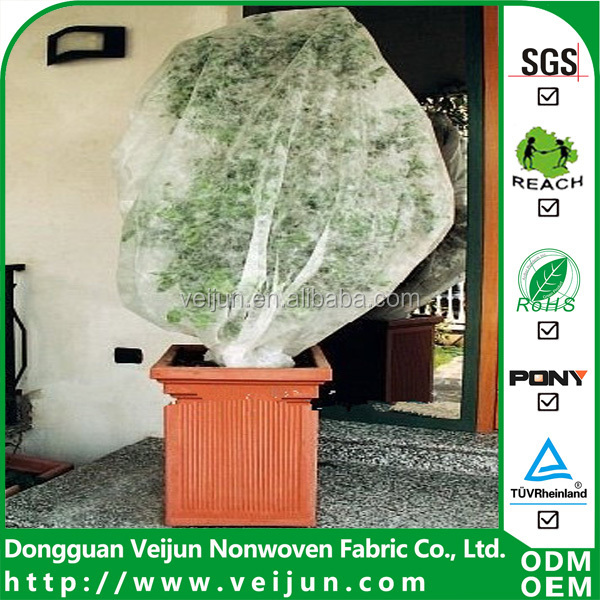 veijun 3% UV added nonwoven agriculture tree covers