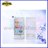 2012 New Coming MP3 Ultral Thin Crytal Case for Apple IPod Nano 7