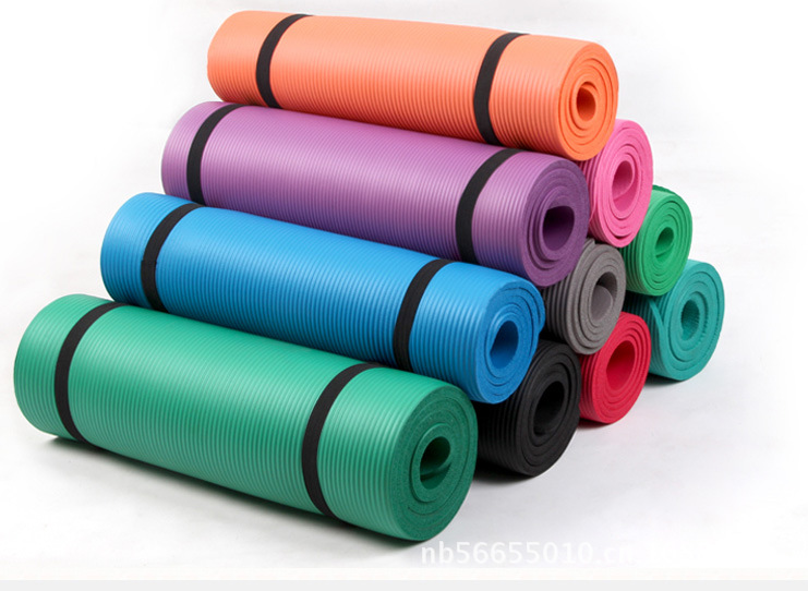 2017 hot sale anti-slip organic yoga mat with TUV certificate