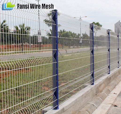 galvanized backyard Boundary And anti intruder twin Wire mesh fence for boundary wall(China factory)