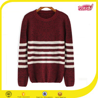 White strip red woolen sweater designs for ladies crochet patterns all over print sweater school girl uniform