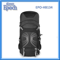 Popular 55L hiking backpack custom camping backpack