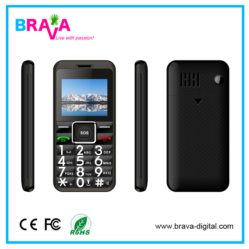 Top Selling Models Cheap Bar Phone Whatsapp Support Slim Mobile Phone For Senior Old People
