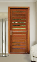 Latest design safety door wooden interior door room door