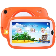 New OEM Dropshipping 7.0 inch Kids Education Tablet PC ROM 4GB Android 4.4 Children Tablets