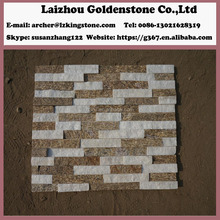 chinese quartz culture stone tile wall panels cornor slate for exterior wall