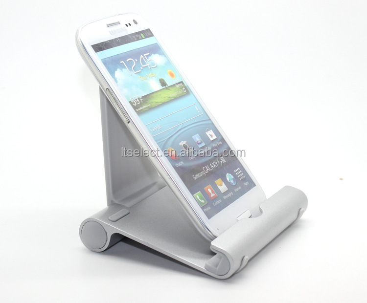 Wholesale Mobile Phone Accessories Universal Aluminum Metal Mobile Phone Tablet Desk Holder Stand For ipad Mobile Phones Display