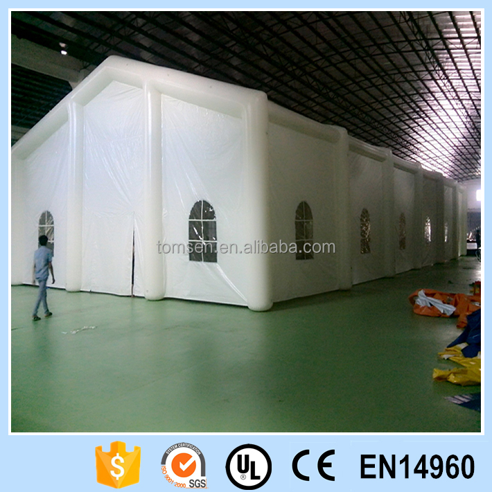 Giant wedding inflatable tent of big event party tent for business exhibation