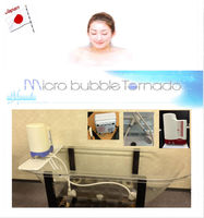 Micro bubble machine bath make you feel relax and happy