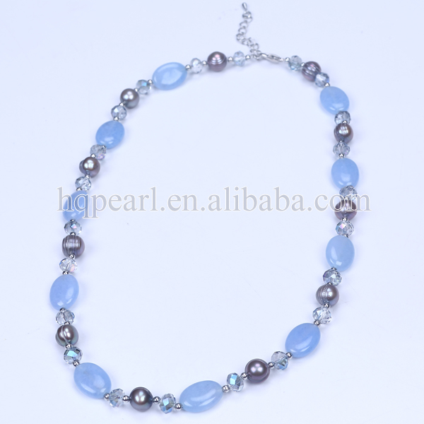 Fancy natural gemstone beads natural stone jewelry for female