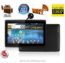 7inch q88 tablet pc mid with wifi skype Os android 4.2 A13 CPU different colors