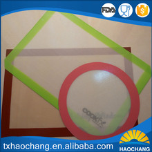 Esay to clean silicone baking mat used in electric baking pan