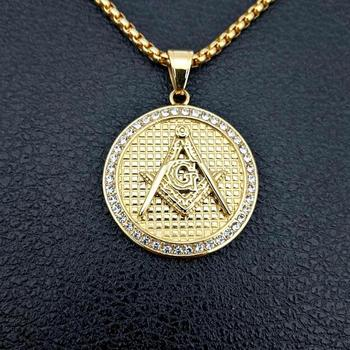 hippie religion necklace wholesale jewelry necklace  masonic