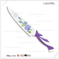"Blade printing Chef knife 8"" with PP + TPR handle"