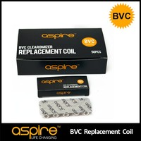 Aspire BVC Coils- IN STOCK aspire BVC replacement atomizer heads Aspire BVC coils for et-s