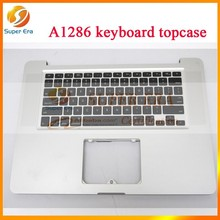 "NEW Top Case Topcase US Keyboard for MacBook Pro 15"" A1286 2010 No Trackpad (SUPER ERA)"