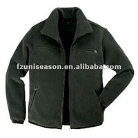 Plain Navy Polar Fleece Jackets
