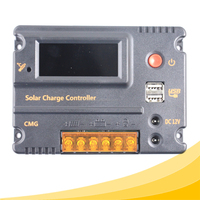 Y-SOLAR 2016 new sale dual USB 12 volt 20 amp solar panel charge controller