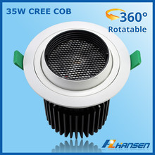High Power 30W Round recessed Mounted LED ceiling light decorative star ceiling led fiber optic light kit