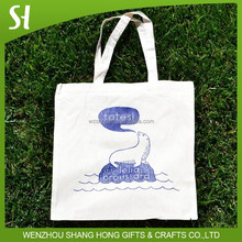 China 100 cotton canvas shopping bags