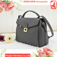 Wholesale Women Leather Top-handle Shoulder Bag, luxury women leather bag
