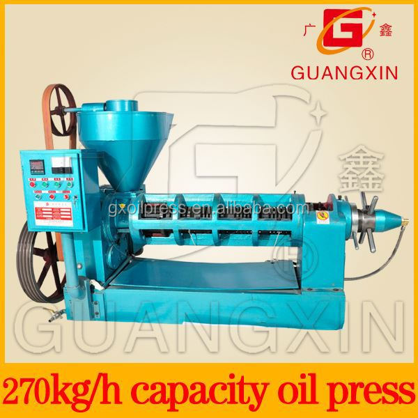 New design sunflower oil cold and hot spiral press small oil pressing equipment