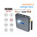 2017 android tv box MECOOL BB2 PRO 3gb ram 16gb rom Amlogic S912 built in 2.4G/5G WiFi Android 6.0 ott tv box tv android box