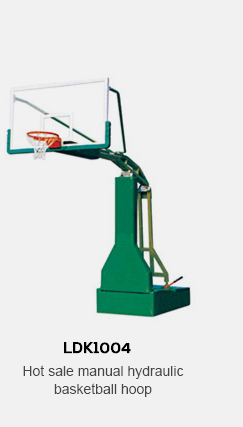 hydraulic basketball stand