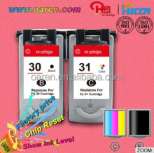 show ink level manufacturers looking for distributors for Canon PG30 CL31 printer ink cartridge