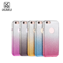 Cute 3 in 1 wholesale clear phone case mobile phones cover for girls for iphone
