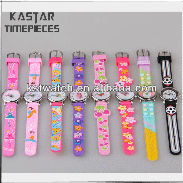 Waterproof plastic watch kids slap watch