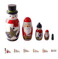Direct Manufacturer custom blank russian nesting dolls