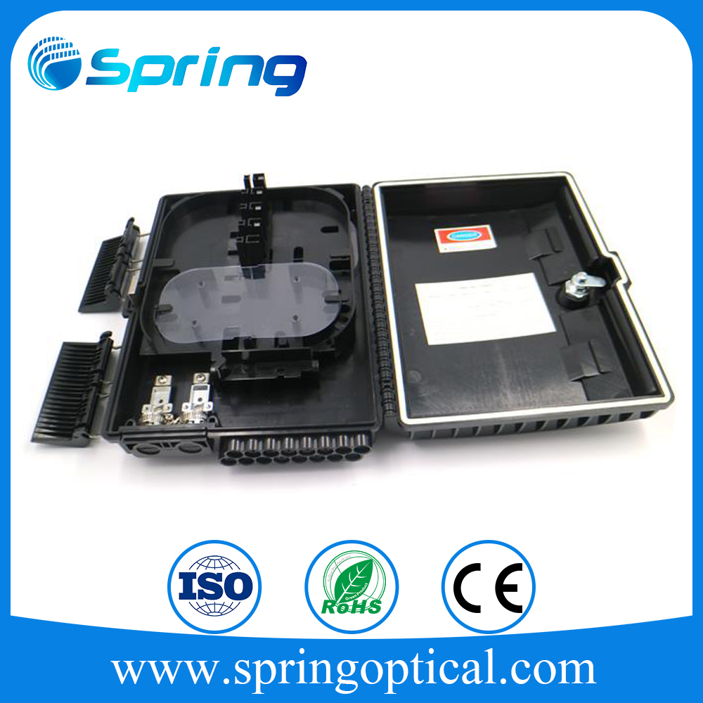 Low Insert Loss PON 1x16 Mini Optical Fiber PLC Splitter 0.9mm with SC/APC Connectors